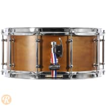 C&C 6.5x14 Gladstone Maple-Poplar-Maple Snare Satin 2012 Natural image