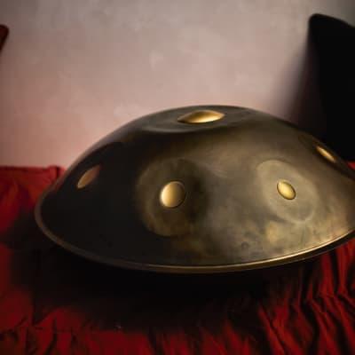 Battiloro Handpan  - F minor 432 Hz + Case