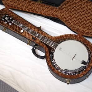 MORGAN MONROE MNB-1W 5-string resonator BANJO new w/ HARD CASE for sale