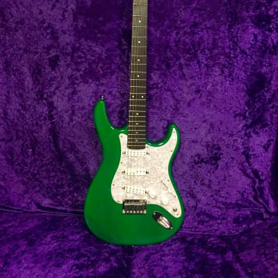 Carvin Bolt Emerald Green Electric Guitar for sale
