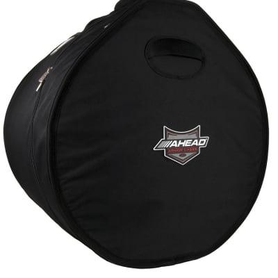 Ahead Bags - AR1220 - 12 x 20 Bass Drum Case w/Shark Gil Handles