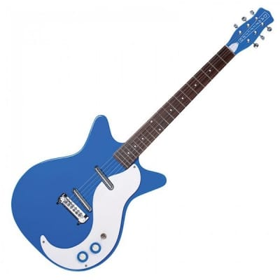 Danelectro DC59M NOS Modified, Go Go Blue for sale