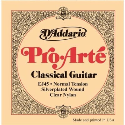 D'Addario EJ45 Pro-Arte Nylon Classical Guitar Strings - Normal Tension