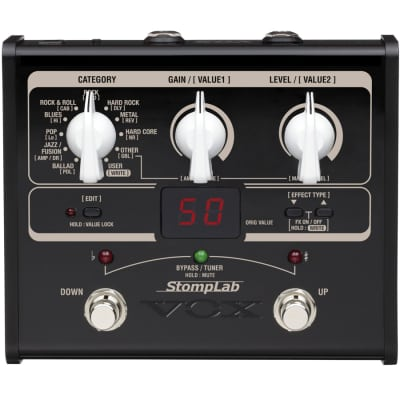 Vox StompLab 1G Modeling Guitar Effect Multi Processors