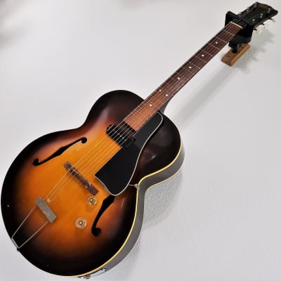 1948 Gibson ES-150 Sunburst Hollow-Body Vintage Archtop Electric Guitar for sale