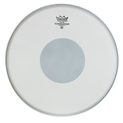 """Remo CS-0113-10 13"""" Controlled Sound Coated Black Dot Bottom Drum Head"""