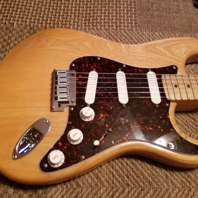 Fender Strat Plus 1997 Natural Ash for sale