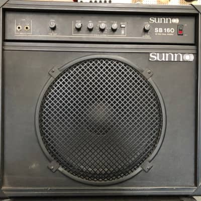 Sunn SB-160 Bass Combo Amp (Used - Pickup Only) for sale
