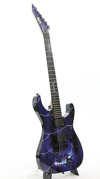 esp ltd metallica ride the lightning graphic series guitar reverb. Black Bedroom Furniture Sets. Home Design Ideas