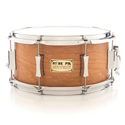 Pork Pie 7x13 Cherry/Okoume Snare Drum