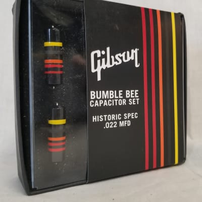 Gibson Historic Bumble Bee Capacitors 2-pack for sale