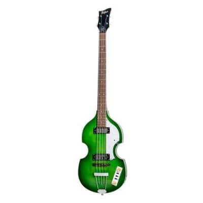 Hofner Violin Bass - Ignition Transparent Green - PRO for sale