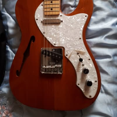 Fender Classic Series '69 Telecaster Thinline 2003 natural for sale