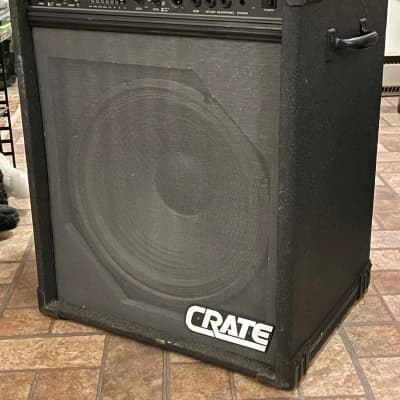 "Crate BX-100 bass amplifier with 15"" speaker"
