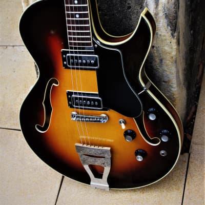 Standel 430 S 1967 Sunburst.  Sam Koontz guitar.  Jazz box. Incredible single cut. Great tone.  Rare for sale