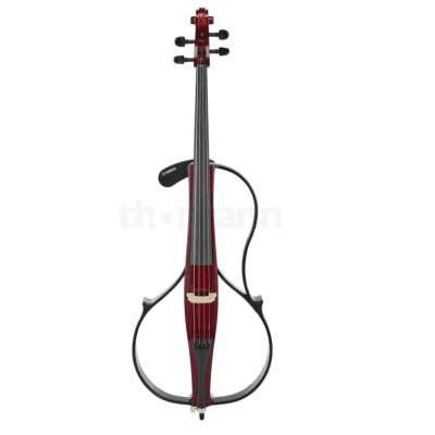 Yamaha SVC-110 Silent Cello 4/4 + Bam Case 1001SW Black for sale