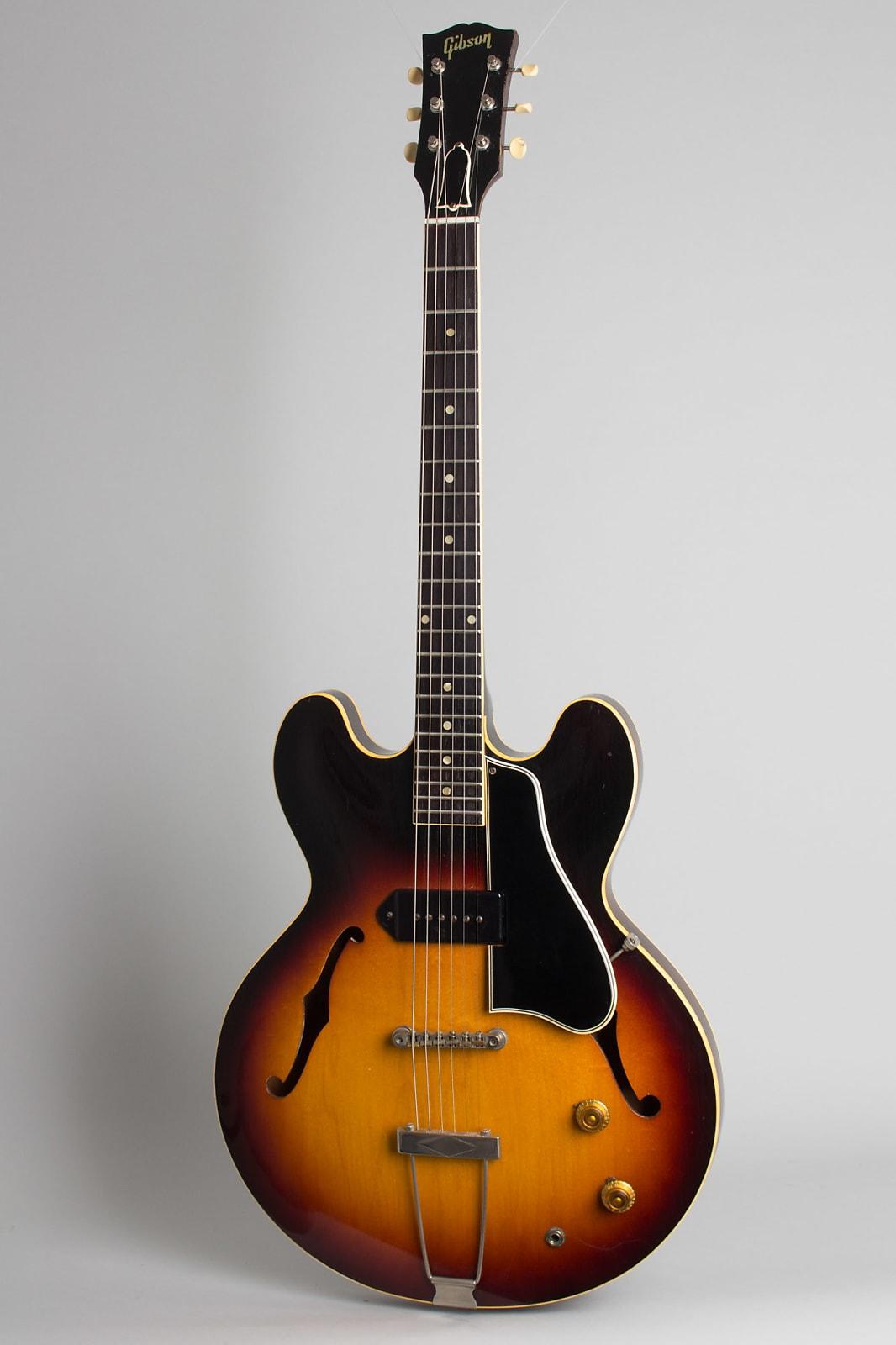 Gibson  ES-330T Thinline Hollow Body Electric Guitar (1960), ser. #R4289-20, black tolex hard shell case.