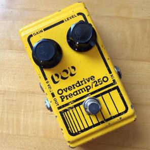 DOD Overdrive Preamp 250 Vintage 1980s