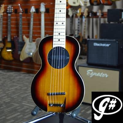 G-Sharp OF-1 Tenor Travel Guitar, Three Tone Sunburst (g# tuning, comes w/ gig bag) for sale