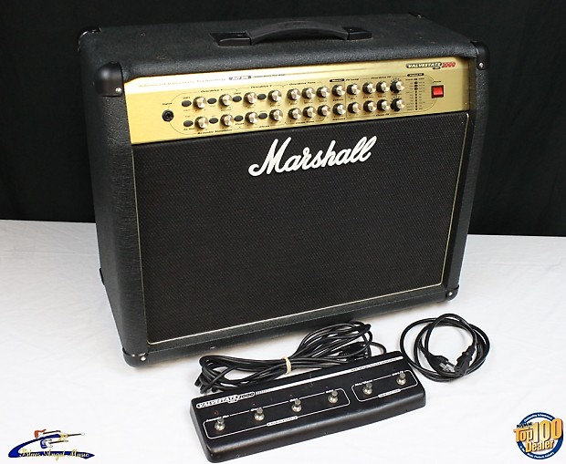 marshall avt275 2x12 combo guitar amp w footswitch works reverb. Black Bedroom Furniture Sets. Home Design Ideas