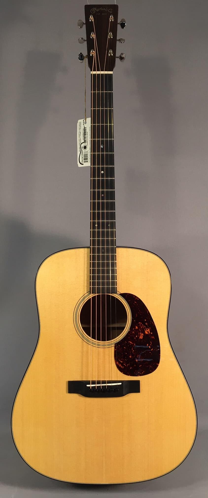 new martin d 18 acoustic guitar with case reverb. Black Bedroom Furniture Sets. Home Design Ideas