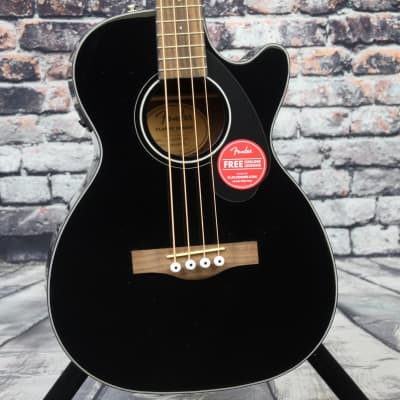Fender CB-60SCE Acoustic Bass Guitar | Black for sale
