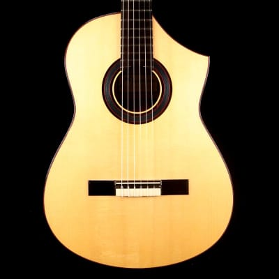 Marchione Classical Cutaway Nylon String Guitar for sale
