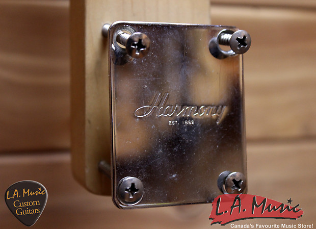 harmony vintage guitar neck used la music reverb. Black Bedroom Furniture Sets. Home Design Ideas