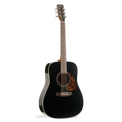 Norman B18 Cedar Acoustic Guitar with Presys - Black for sale