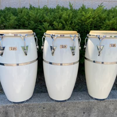 Latin Percussion LP Quinto - Conga - Tumba 1980+ White