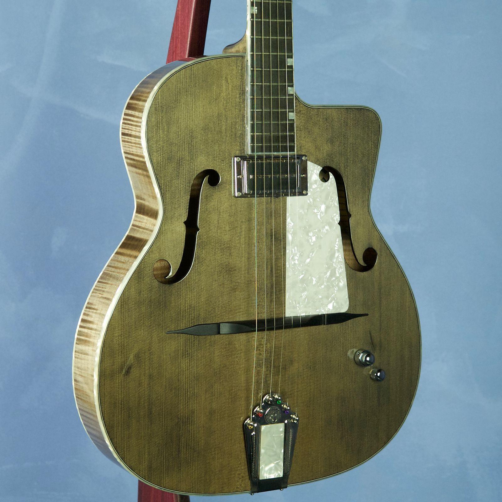 Shelley D. Park F-Hole Hybrid Ghost Guitar