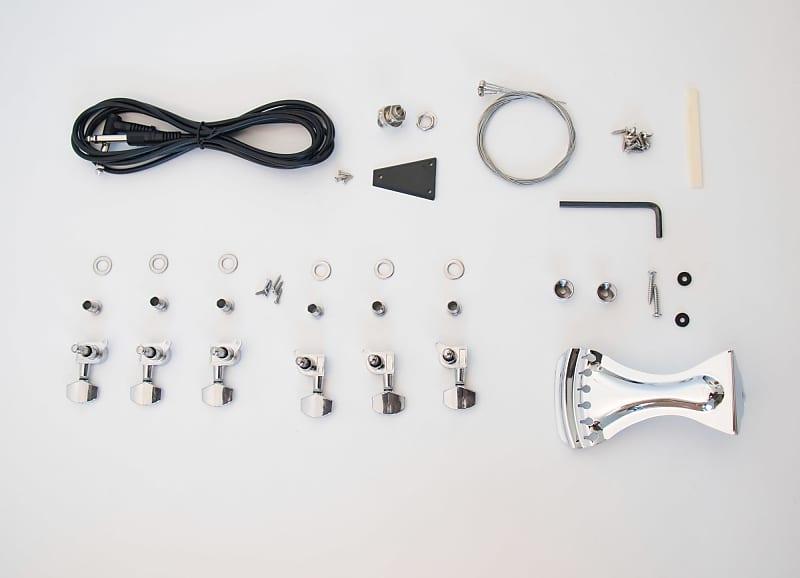 diy electric guitar kit resonator guitar acoustic kit reverb. Black Bedroom Furniture Sets. Home Design Ideas