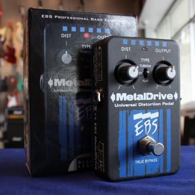 EBS Metal Drive Bass Distortion Pedal