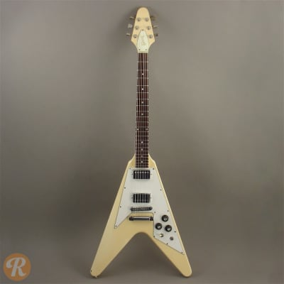 gibson flying v 1979 white price guide reverb. Black Bedroom Furniture Sets. Home Design Ideas
