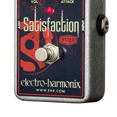 Electro Harmonix Satisfaction Fuzz Pedal for sale
