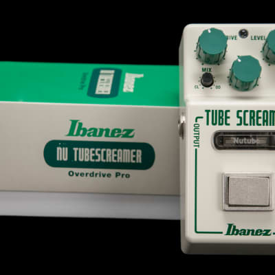 Ibanez NTS Nu Tubescreamer Pedal w/ NuTube Technology for sale