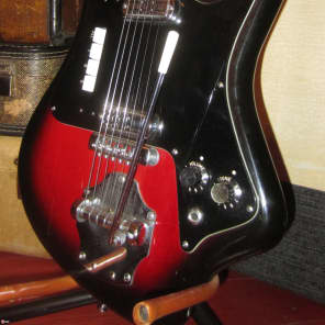 Circa 1963 Crucianelli Elli-Sound Double Pickup Solidbody for sale