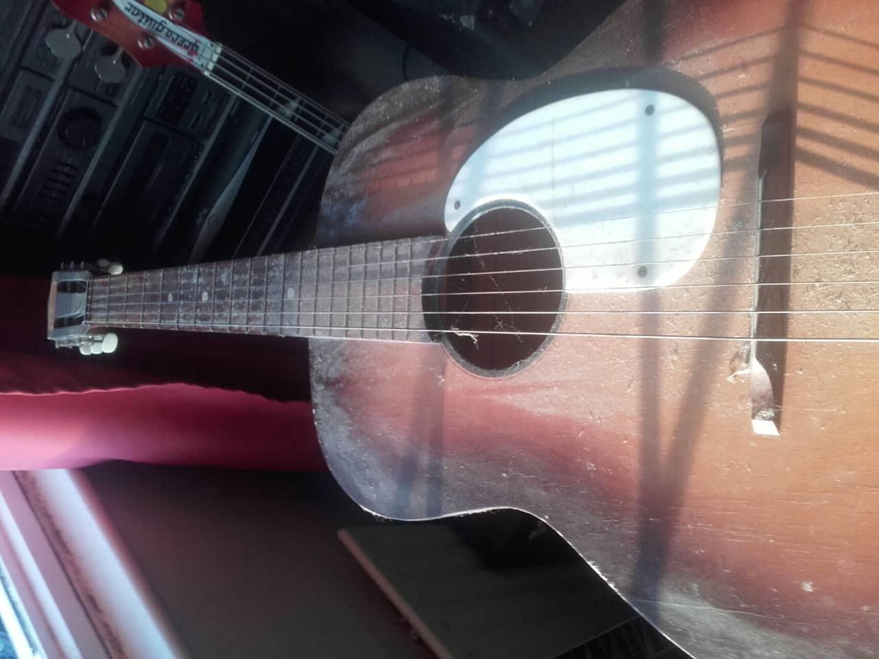 kansas parlor acoustic guitar vintage very old reverb. Black Bedroom Furniture Sets. Home Design Ideas