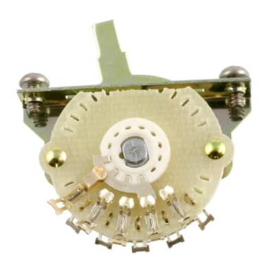 Allparts EP-4374-000 4-way Oak Grisgsby Blade Switch