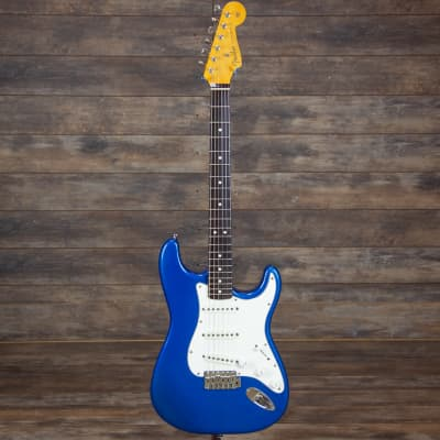 Fender 62 Reissue Stratocaster 1986 Lake Placid Blue Strat with hang tags, case, etc USA 7.96 pounds for sale