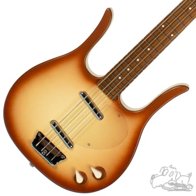 Danelectro 58 Longhorn Bass Copper Burst for sale