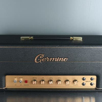 2019 Germino Lead 55 LV Master Volume Black Tolex for sale