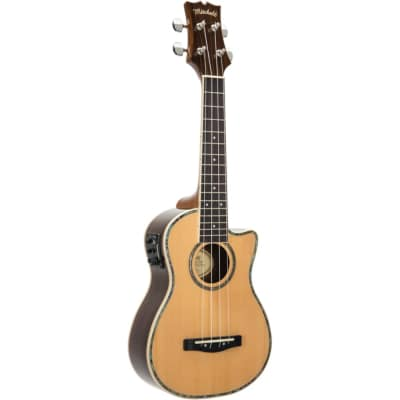 Mitchell MU70CE Cutaway Acoustic-Electric Concert Ukulele for sale