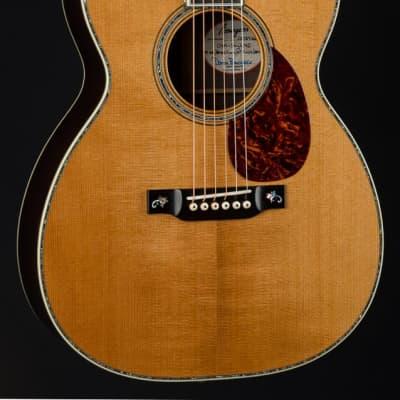 """Bourgeois OM-45 Custom """"Vine"""" Master Brazilian Rosewood and Aged Tone Adirondack Spruce NEW"""