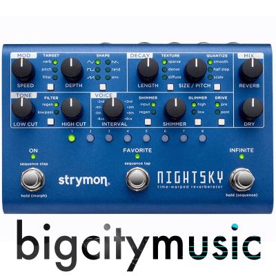 Strymon NightSky Time-Warped Reverberator Pedal IN STOCK