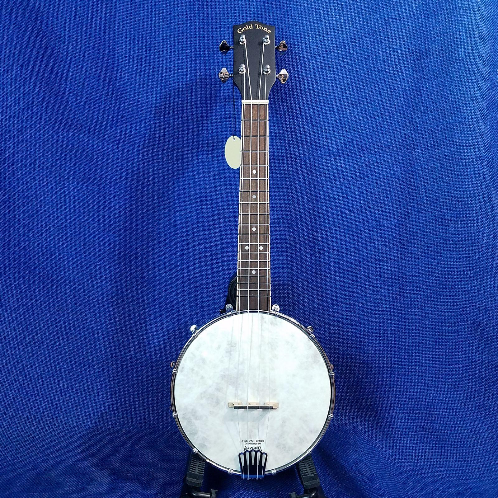 Mims Ukes: Gold Tone Concert Banjolele BU-1 Maple Banjo Ukulele Uke with  Pickup & Bag ~525