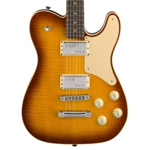 Fender Limited Edition Parallel Universe Series Troublemaker Tele Ice Tea Burst 2018