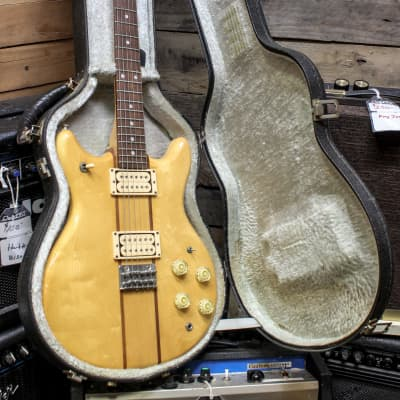 Vantage VS650 Mastumoku MIJ Vintage Electric Guitar w/ OHSC Case for sale