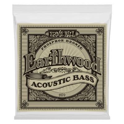 Ernie Ball 2070 Earthwood Phosphor Bronze Acoustic Bass Strings - 45-95 Gauge
