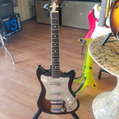 Kawai Melodier S-80 1960s Sunburst 2 pickup with tremolo and bar. for sale